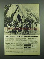 1969 Sears DieHard Battery Ad - Don't You Wish You Had