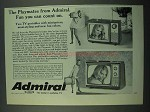 1969 Admiral Playmate Television Ad - You Can Count On