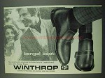 1969 Winthrop Shoes Ad - Bengal Boot