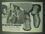 1969 Winthrop Shoes Ad - The Hacking Boot
