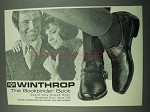1969 Winthrop Shoes Ad - The Bookbinder Boot