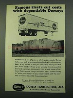 1969 Dorsey Trailers Ad - Famous Fleets Cut Costs