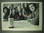 1969 Seagram's 7 Crown Whiskey Ad - Somthing In It