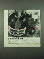 1969 Grand Marnier Liqueur Ad - The Spirit Of