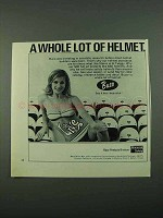 1969 Buco Motorcycle Helmet Ad - Whole Lot of Helmet