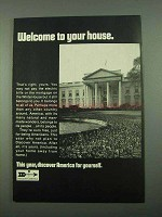 1969 Discover America Ad - Welcome to Your House