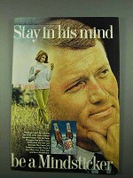 1969 Tab Soda Ad - Stay in His Mind