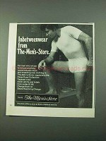 1969 Sears The Men's Store Underwear Ad - Inbetweenwear