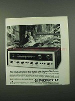 1969 Pioneer SX-990 Receiver Ad - Outperformer