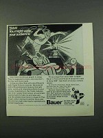 1969 Bauer Super 8 Movie Cameras Ad - Might Wake