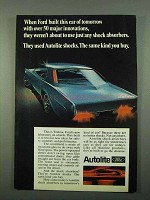 1969 Ford Autolite Shock Absorbers Ad - Innovations