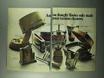 1969 Hoover Appliances Ad - Great Vacuum Cleaners