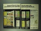1969 General Electric Refrigerator Ad - TFF-24RE