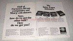 1969 2-pg Sharp Calculator Ad - CS-17B CS-16B CS-22A CS-32A