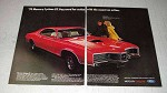 1970 Mercury Cyclone GT Car Ad - Password for Action