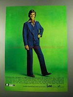 1976 Lee Set Real Denim Jeans Suit Ad