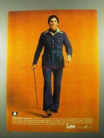 1976 Lee Separate Lees Suit Ad - Walking Off the Blues