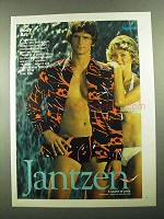 1976 Jantzen Body Art Brief and Shirt Swimwear Ad