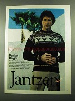1976 Jantzen Persian Knight Sweater Ad