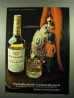1976 Windsor Supreme Canadian Whisky Ad - Smooth