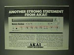 1976 Akai AA-1050 Stereo Receiver Ad - Statement