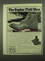 1976 Herman Gopher Field Shoe Ad