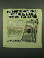 1976 Slim Jim Smoked Beef Snacks Ad - Your Tackle Box