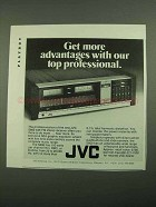 1976 JVC S600 Receiver Ad - Get More Advantages