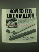 1976 Gold Label Royale Cigar Ad - Feel Like a Million