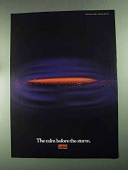 1994 Normark Rapala Lure Ad - Calm Before The Storm