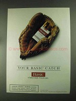 1994 Basic Cigarettes Ad - Your Basic Catch