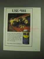 1994 WD-40 Oil Ad - Use #881