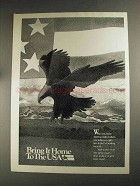 1992 Public Service Ad - Bring it Home to the USA