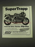1992 SuperTrapp Internal Disc Series Slip-On Exhaust Ad