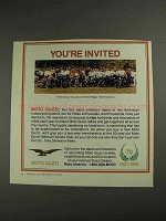 1992 Moto Guzzi Motorcycles Ad - You're Invited