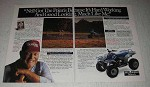 1991 Polaris ATV Ad - It's Hard Working Like Me