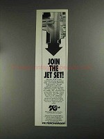 1991 K&N Intake Performance Kit Ad - Join the Jet Set