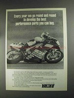 1991 Vance & Hines Exhaust Systems Ad - Go Round