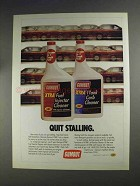 1991 Gumout Ad - Xtra Fuel Injector & Carb Cleaner
