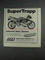 1991 SuperTrapp Internal Disc Series Ad