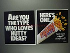 1991 PayDay Candy Bar Ad - Loves Nutty Ideas?