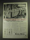1936 International Nickel Monel Metal Ad - Tanning Drum