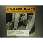 1936 Du Pont Basic Orange 3R Ad - Leather Dyestuffs