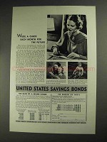 1936 United States Savings Bonds Ad - For the Future