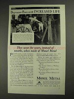 1936 International Nickel Monel Metal Ad - Degreaser