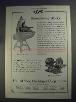 1927 USMC Ad - Block Plane No. 5 and Grinder Model G