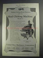 1927 USMC Ad - Ideal Clicking Machine Model C
