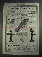 1927 USMC Ad - Economy Insole Lip Setting Machine