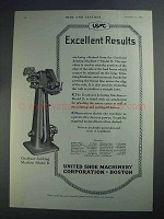 1927 USMC Ad - Goodyear jointing machine model D