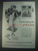 1927 USMC Ad - Alpha Wood Heel Screws - Sidewalks of New York